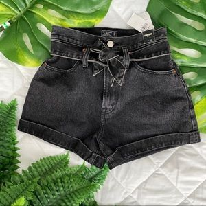 Abercrombie Jean Shorts NWT